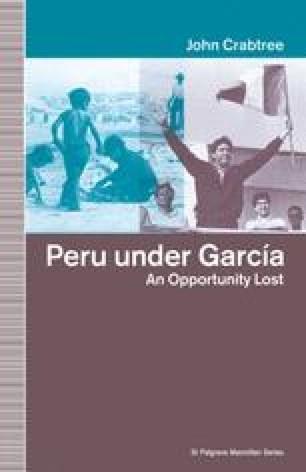 Peru under García