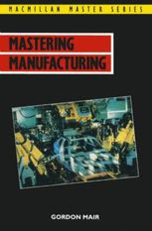 Mastering Manufacturing