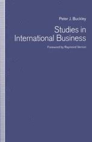 Studies in International Business