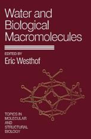Water and Biological Macromolecules