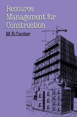 Resource Management for Construction