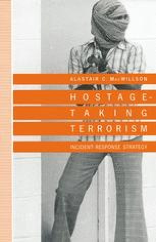 Hostage-Taking Terrorism