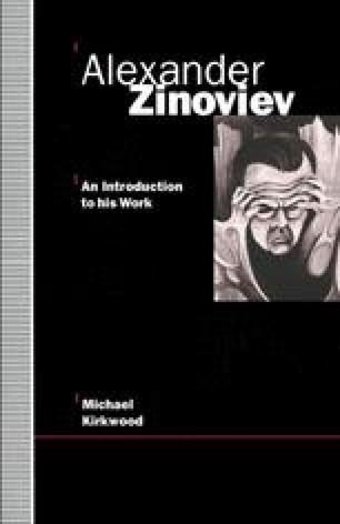 Alexander Zinoviev: An Introduction to His Work