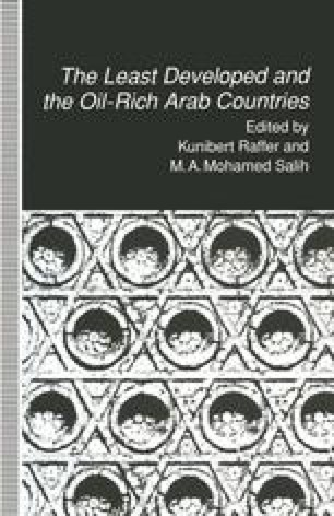The Least Developed and the Oil-Rich Arab Countries