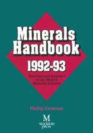 Minerals Handbook 1992–93