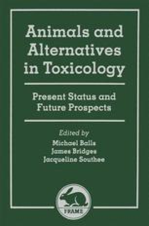Animals and Alternatives in Toxicology