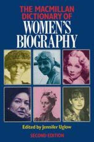 The Macmillan Dictionary of Women's Biography