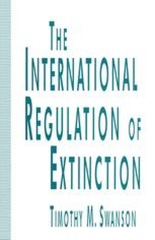 The International Regulation of Extinction