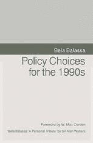Policy Choices for the 1990s