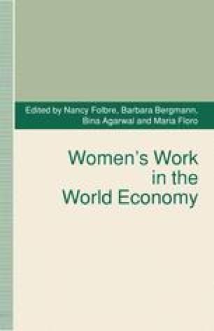 Women's Work in the World Economy