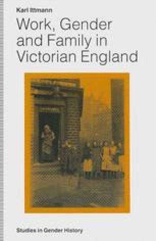 Work, Gender and Family in Victorian England