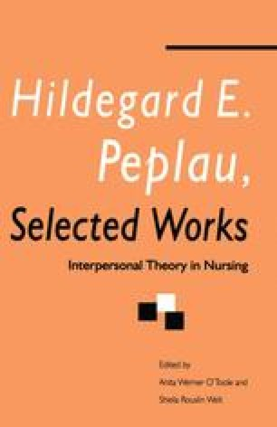 Hildegard E. Peplau, Selected Works