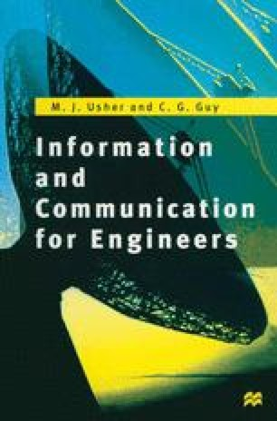 Information and Communication for Engineers