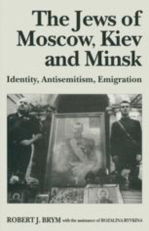 The Jews of Moscow, Kiev and Minsk