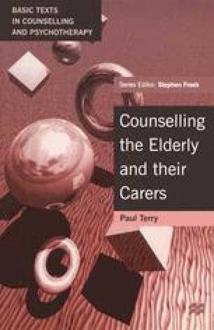 Counselling the Elderly and their Carers