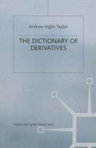 Dictionary of Derivatives
