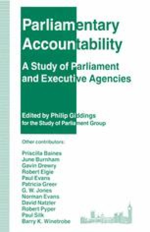 Parliamentary Accountability