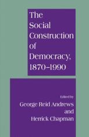 The Social Construction of Democracy, 1870–1990