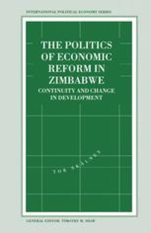 The Politics of Economic Reform in Zimbabwe