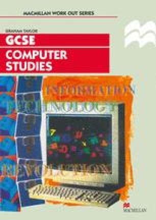 Computer Studies GCSE