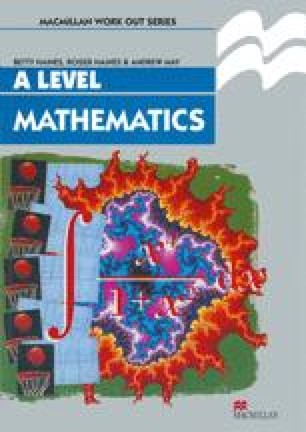 Mathematics A Level