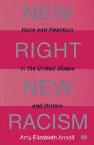 conclusion of racial discrimination