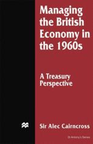 Managing the British Economy in the 1960s