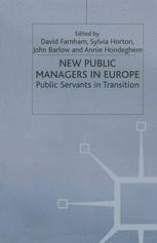 New Public Managers in Europe