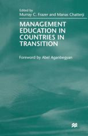 Management Education in Countries in Transition