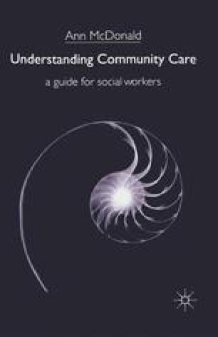 Understanding Community Care