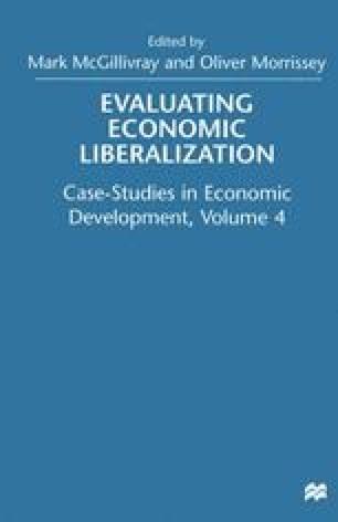 Evaluating Economic Liberalization