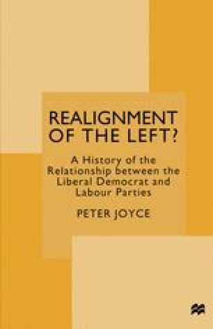 Realignment of the Left?
