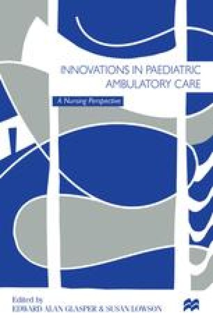 Innovations in Paediatric Ambulatory Care