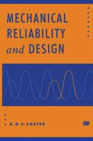Mechanical Reliability and Design