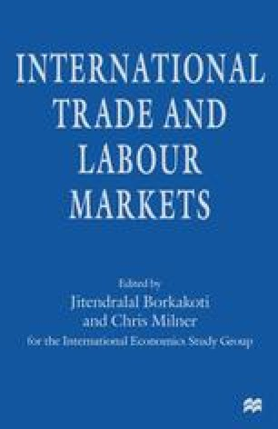 International Trade and Labour Markets