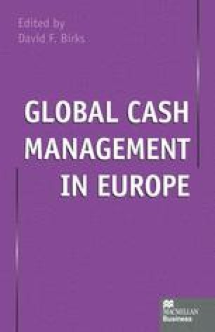 Global Cash Management in Europe