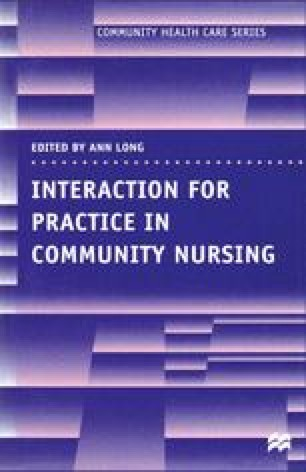 Interaction for Practice in Community Nursing