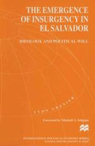 The Emergence of Insurgency in El Salvador