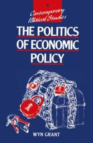 The Politics of Economic Policy