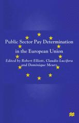 Public Sector Pay Determination in the European Union