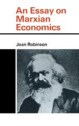 An Essay on Marxian Economics