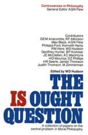 The Is-Ought Question