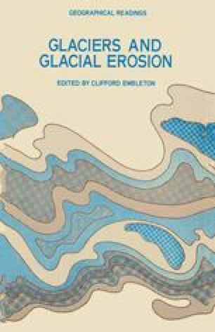 Glaciers and Glacial Erosion
