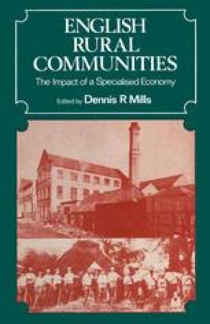 English Rural Communities
