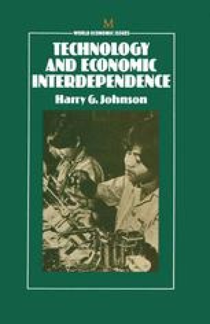 Technology and Economic Interdependence