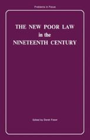 The New Poor Law in the Nineteenth Century
