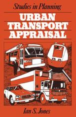 Urban Transport Appraisal