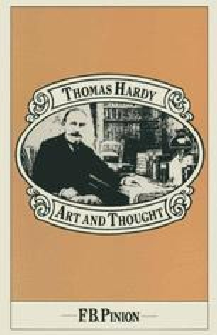 Thomas Hardy: Art and Thought