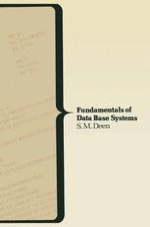 Fundamentals of Data Base Systems