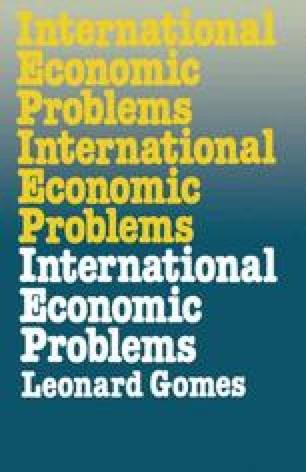 International Economic Problems